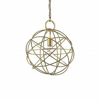 Lampada A Sospensione 1 Luce Konse In Metallo Oro